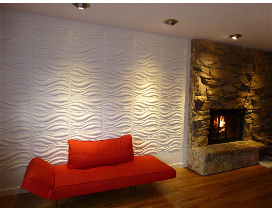 3D Grid Pattern Wallpaper Bedroom Living Room Modern Wall Background TV  Decor Part 55