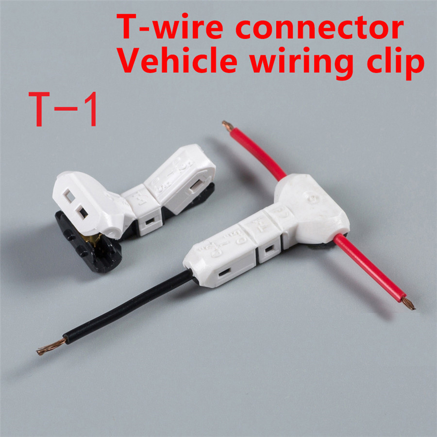 20 Pcs Car Electrical Wire Wiring Cable Quick T Connector Joint Terminal Splice