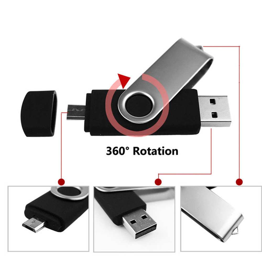 2in1 64gb micro usb stick speicherstick f r android handy. Black Bedroom Furniture Sets. Home Design Ideas