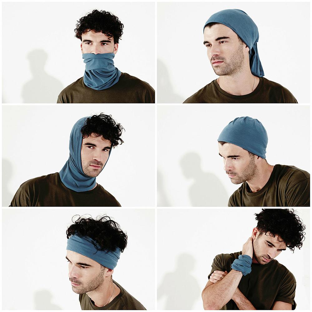 Halswärmer Halstuch Multifunktions Haarband Skull Kopftuch Stirnband Sturmhaube