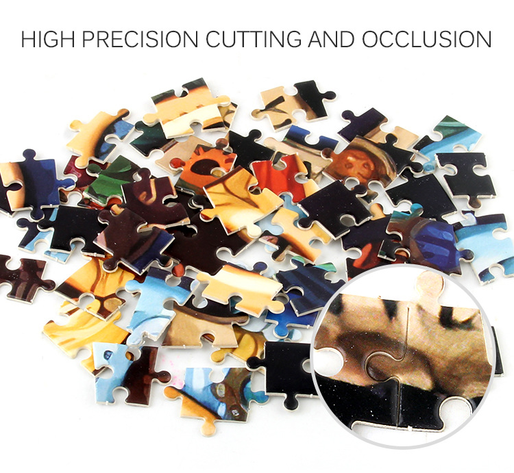 1000 Pcs Jigsaw Puzzle Assembled Toy Gift For 12 Constellations Story Assembling
