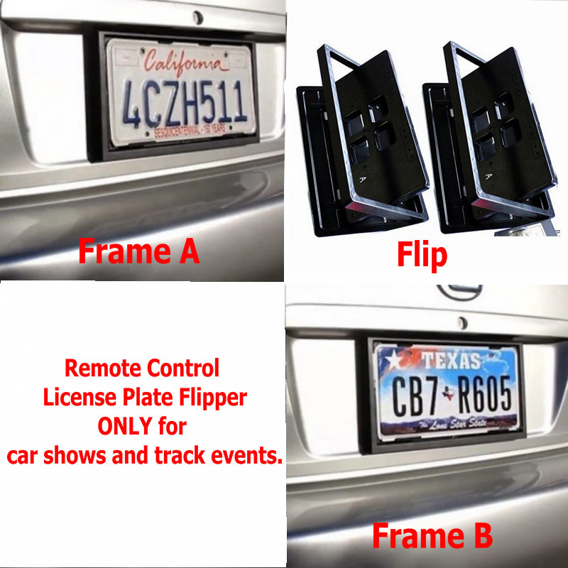 Ultimate License Plate Flipper For Motorcycles