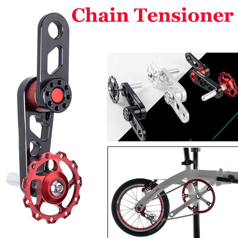 MTB Road Bike Bicycle Aluminum Chain Tensioner Single Speed Converter USA