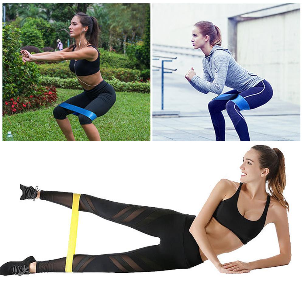 5 Niveau Fitness Entrainement Bandes de Résistance Yoga Pilates Sport Training Rubber