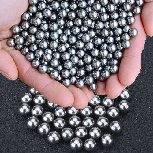 HK 100Pcs 6mm Bicycle diameter Silver Stainless Steel Ball Bearing for Catapult