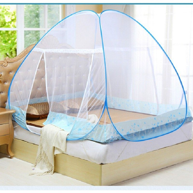 Material Polyester/Cotton Type Single-porta. Use HomeOutdoor/ExteriorC&ingTravel Feature Insecticide TreatedFolded Name Mosquito Net For Bed & Mosquito Net Automatic Protable Canopy Insect Folding Bed Netting ...