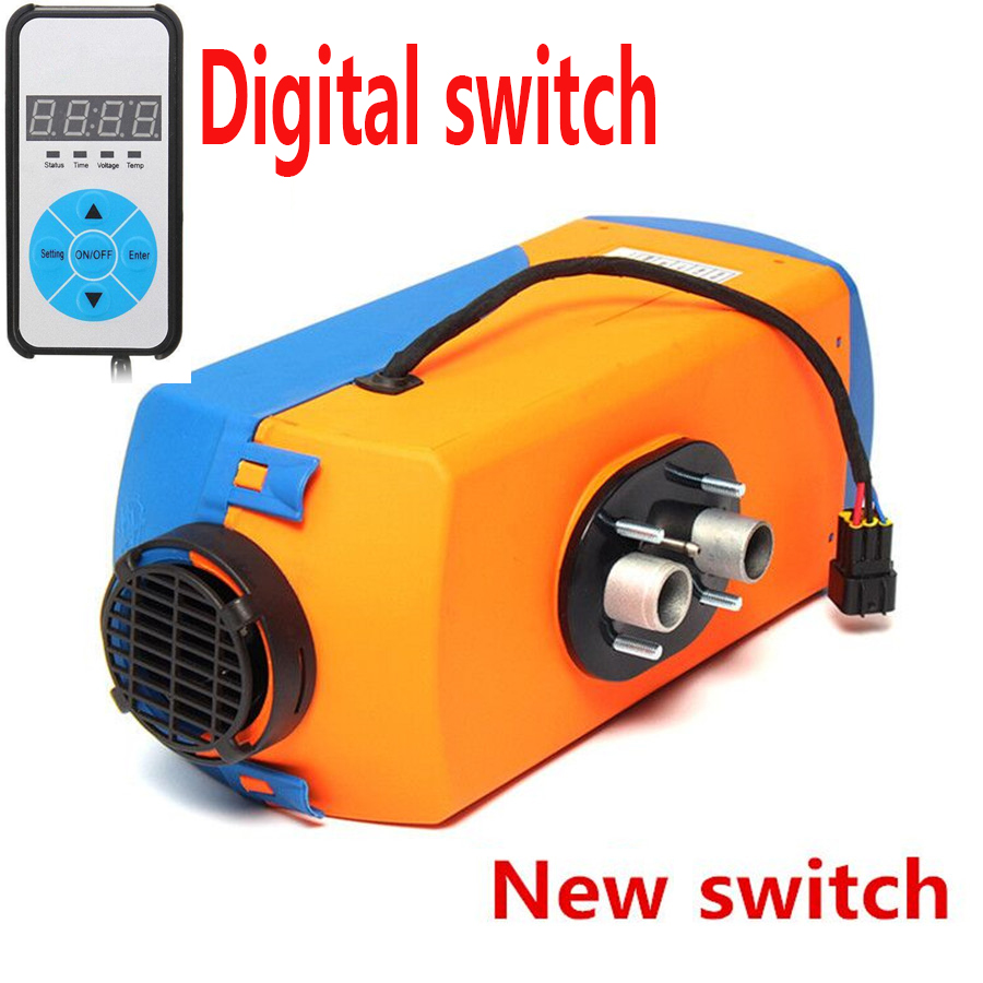 Vanair Wiring Diagram 12v 3kw 5kw Compact Car Van Air Diesel Heater W Digital Switch Silencer Piipe