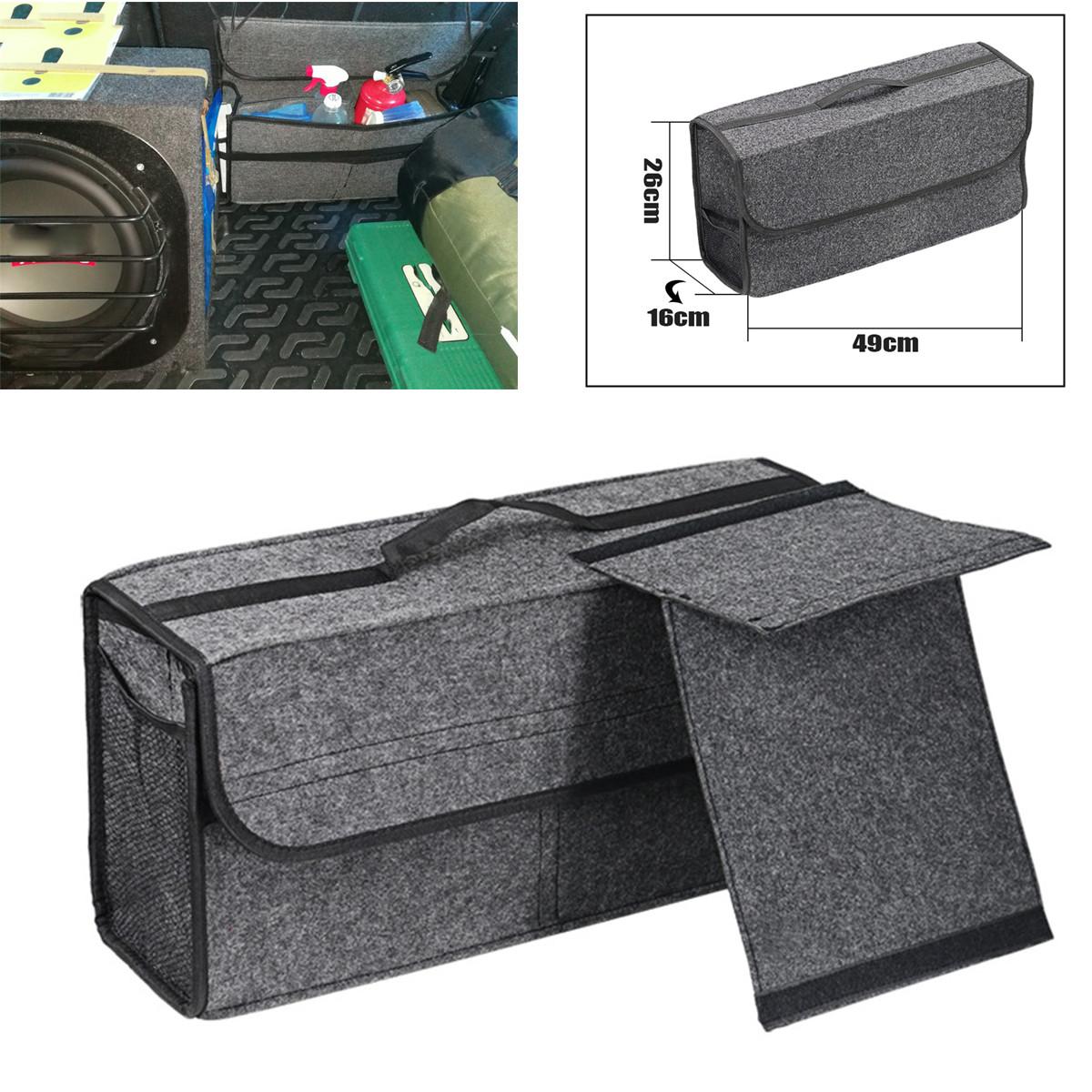 Partition Car Felt Storage Box Trunk Bag Organizer Bag
