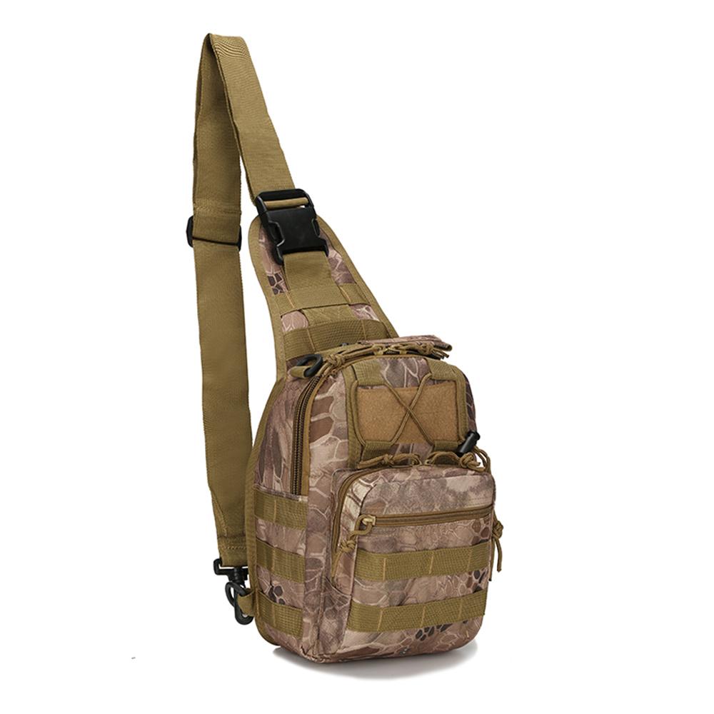14d27ccc686c Details about Men Backpack Molle Messenger Shoulder Bag Chest Pack Military  Tactical Sling Bag