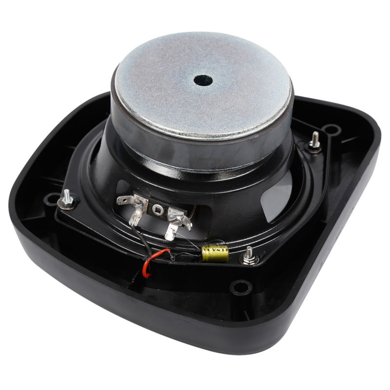 black audio fairing lower speaker kit for harley electra glide road street glide ebay. Black Bedroom Furniture Sets. Home Design Ideas
