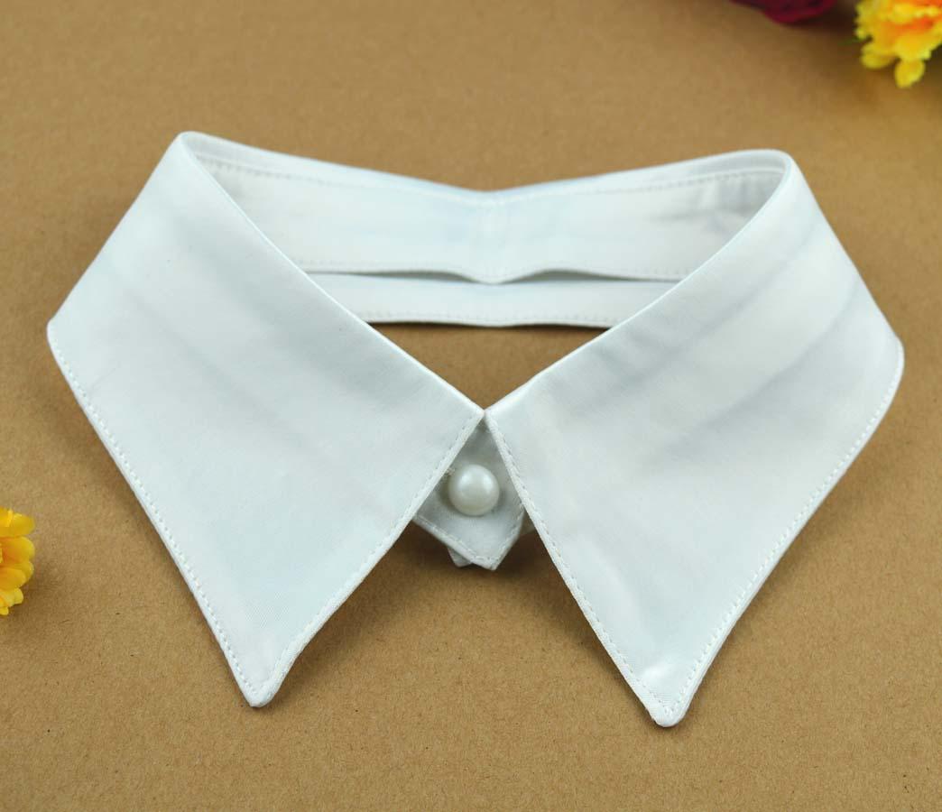 Women Fake Collar Cotton Shirt Hot Sale Lapel Peter Pan Collar