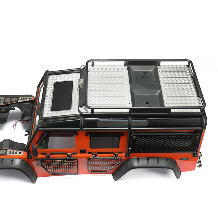 Für 1//10 TRAXXAS TRX4 Defender Gepäckträger Anti-Rutschplatten-Werkzeugteil
