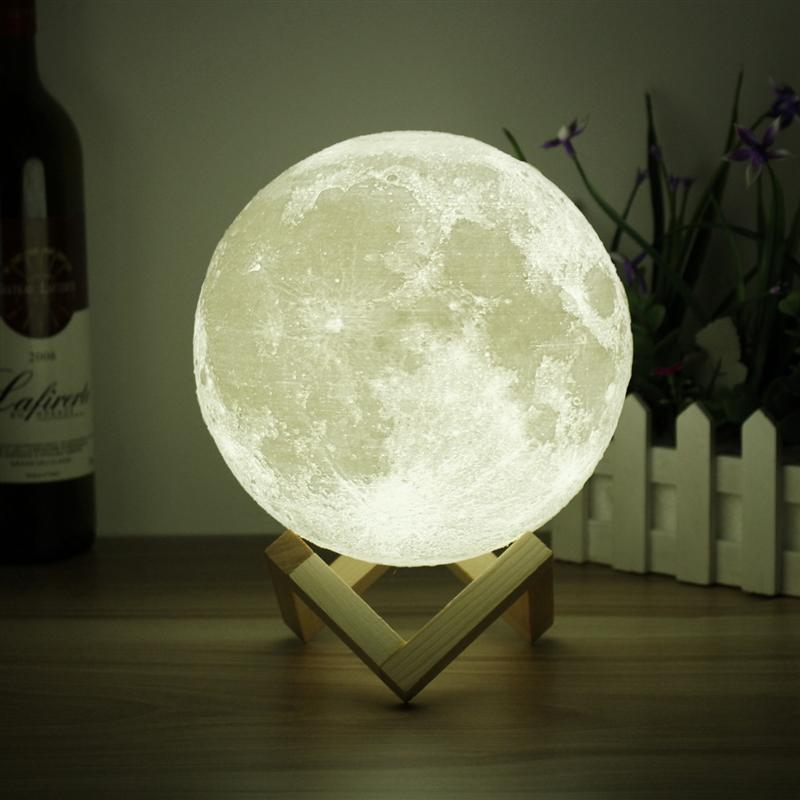 Moonlight Night LED Touch Lamp 3D about Lamp Light Color Moon Details Changing USB Sensor Gift j345RLcAq