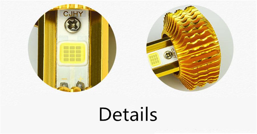 18w h4 led motorrad scheinwerfer birne fern abblend lampe. Black Bedroom Furniture Sets. Home Design Ideas