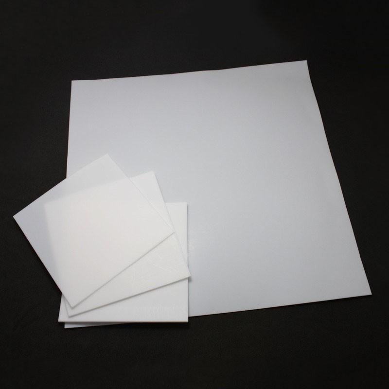 1pc 2mm 300mmx300mmx2mm PTFE Teflon Sheet Plate White Engineering Plastic