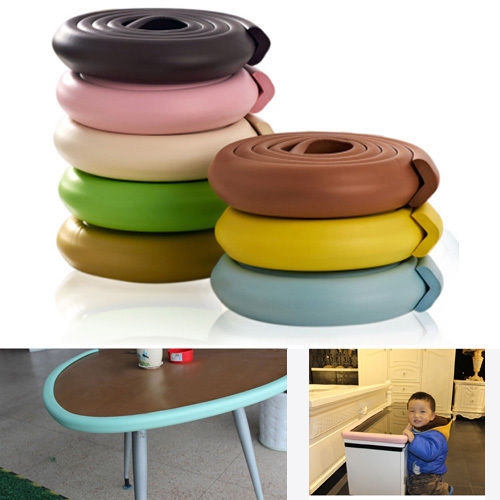 Baby Safety Table Edge Corner Cushion Guard Strip Softener Bumper Protector