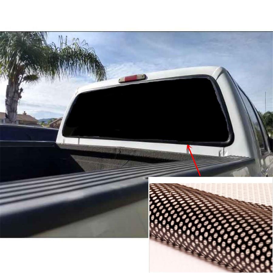 heckscheibe aufkleber sonnenschutz schwarz folie 165 56cm. Black Bedroom Furniture Sets. Home Design Ideas