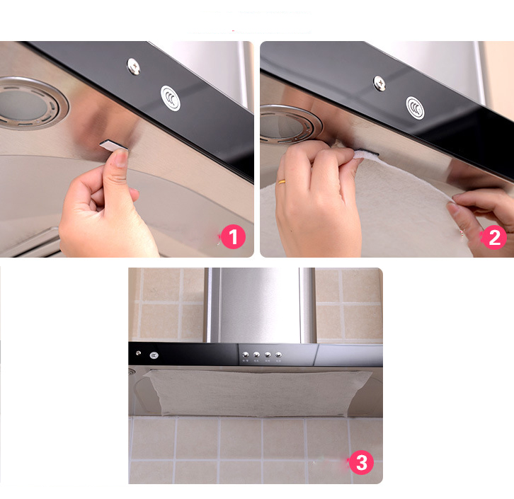 4x Universal Cooker Extractor Hood Fan Grease Dirt Filter Cut Size Fit 47x57cm