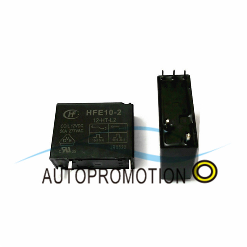 Active Components 2pcs 5pins 12v Hfe10-2-12-ht-l2 50a Magnetic Latching Relay Components Clients First