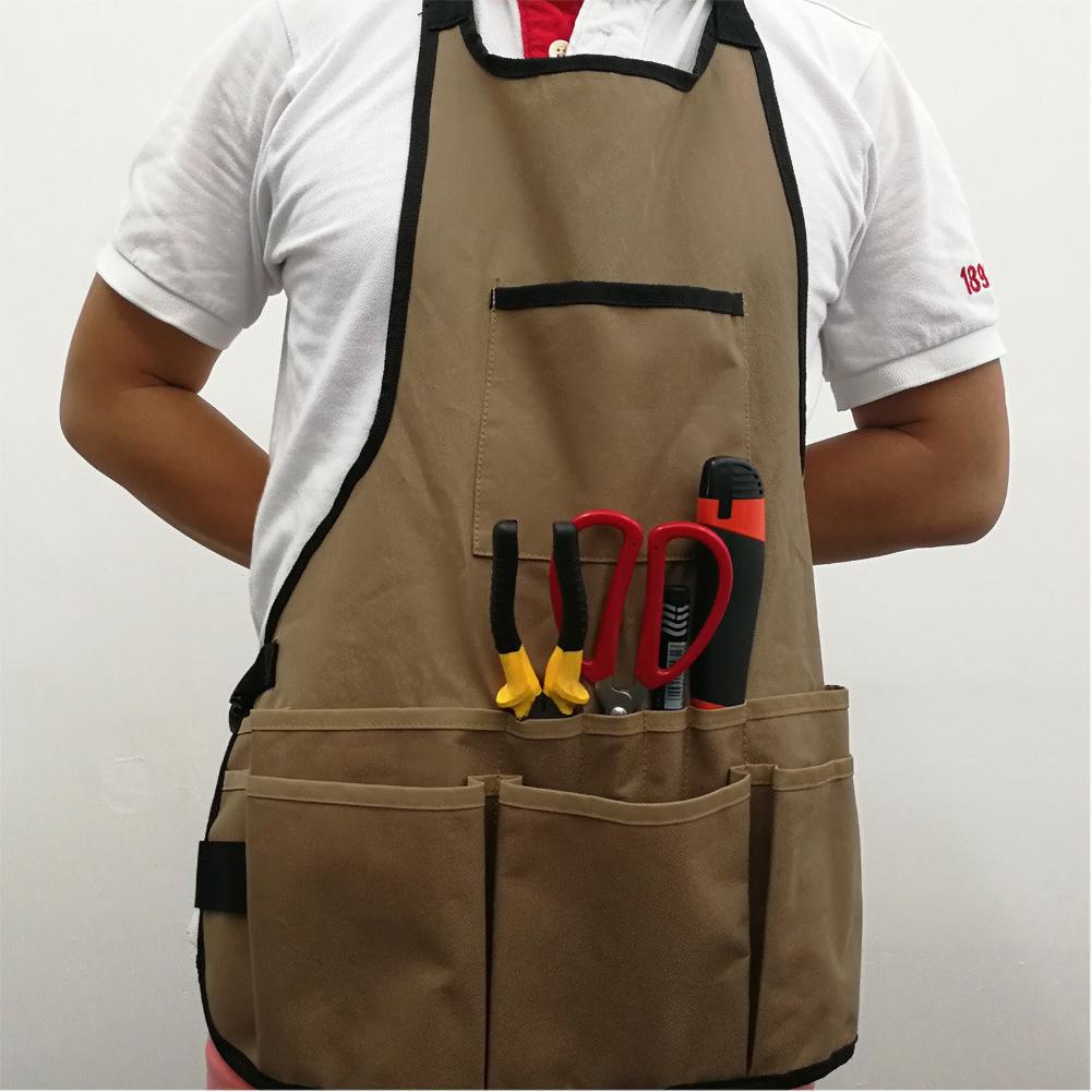 Electrician Tool Apron Work Wear Utility Carpenter Apron Pouch Bags Pocket Vest