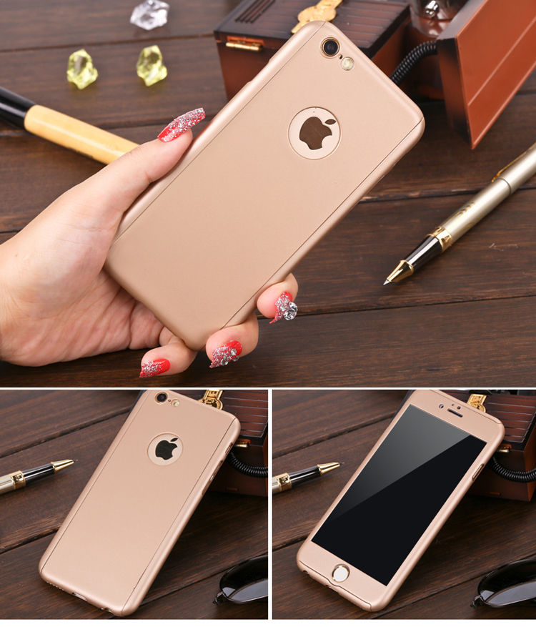 factory price 1be9a b3c7c Details about 360° Case For Apple iPhone 7 6 6S / Plus 8 8+ Hybrid Slim  Hard Protective Cover