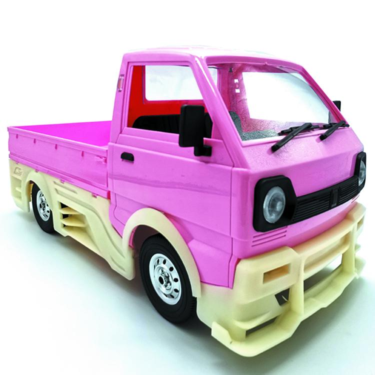 DIY Encirclement Tail Resin Wide Body Surround Upgrade Truck For WPL D12 V8K7